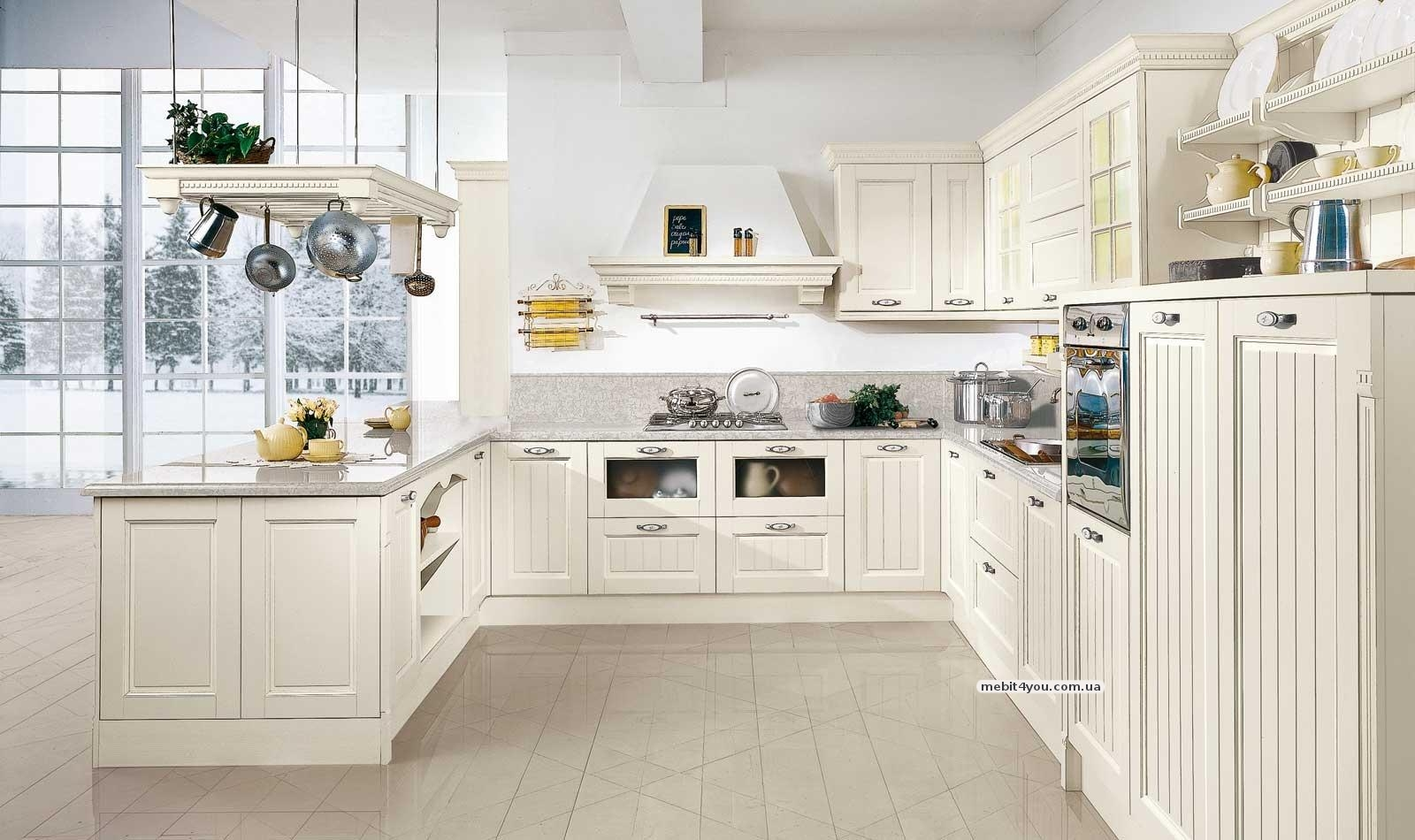 Cucine country bianche